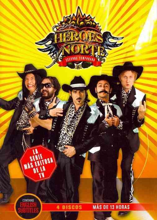 LOS HEROES DEL NORTE SEASON 2 BY LOS HEROES DEL NORTE (DVD)